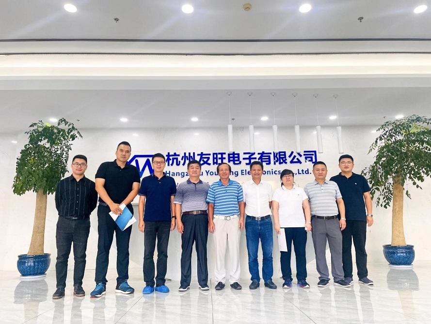 我公司與西安電子科技大學及杭州研究院探尋校企合作